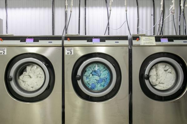 Самая большая стиральная машинка «Фишки» способна стирать до 55 килограммов белья за одну загрузку