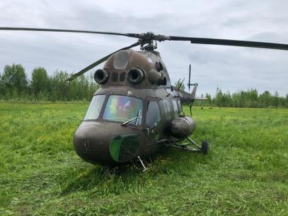 Полиция задержала двух пилотов вертолета, отправившихся на рыбалку в Норильск без документов
