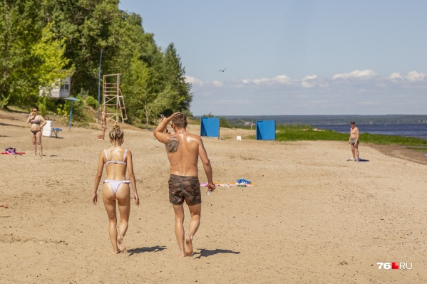 Пляжи в Ярославле подготовили к купальному сезону