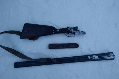Именно из этого оружия обвиняемый совершил выстрелы декабрьским утром прошлого года