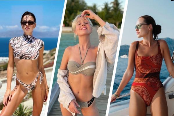 София Никитчук, Клава Кока и Дарья Клюкина показали в своих Instagram огромное количество купальников