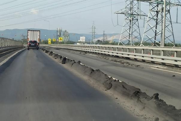 ГИБДД попросила наказать подрядчика за «пластилиновый» асфальт на трассе М-5