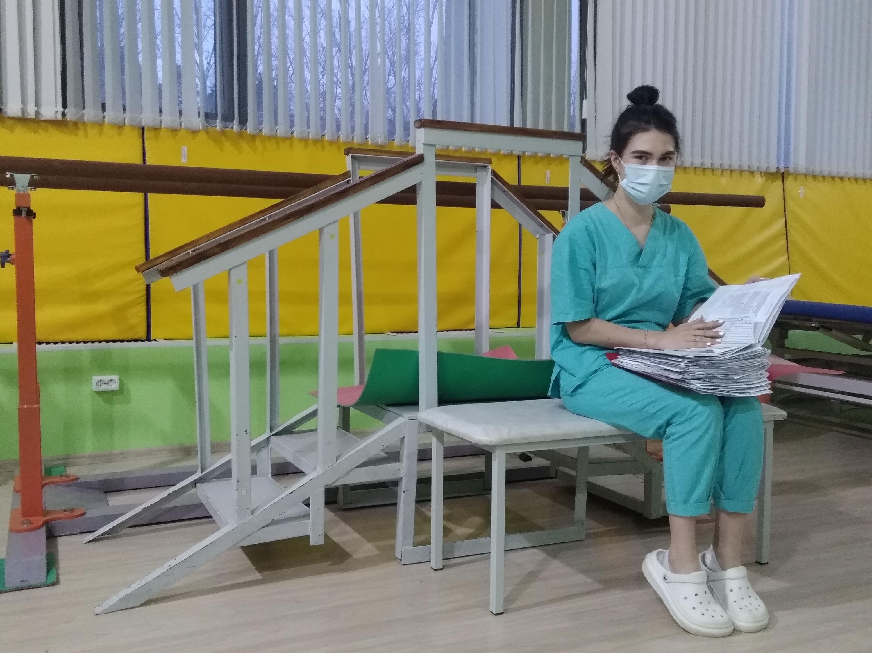 Елена Байкова, медицинская сестра отделения реабилитации