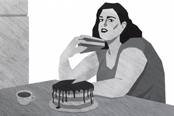 Зависимая от еды красноярка рассказала свою историю