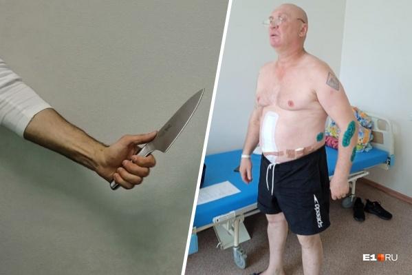 Сергей Чусовитин почти две недели добивается встречи с полицией, но показания у него так никто и не взял