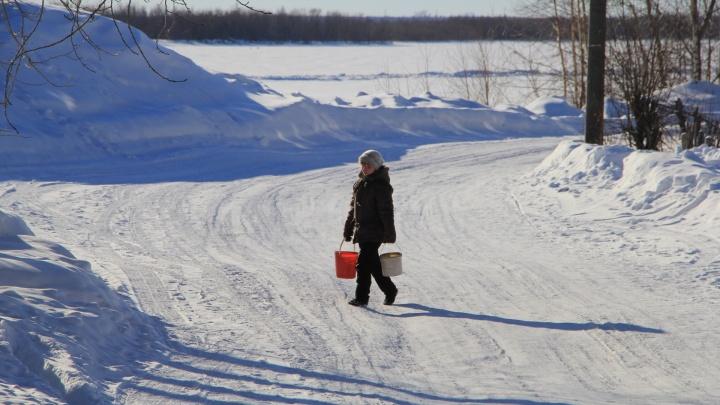 Из-за утечки Кегостров до вечера останется без воды