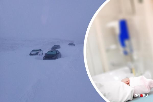 Непогода накрыла Челябинскую область накануне вечером, самая сложная ситуация — на юге региона