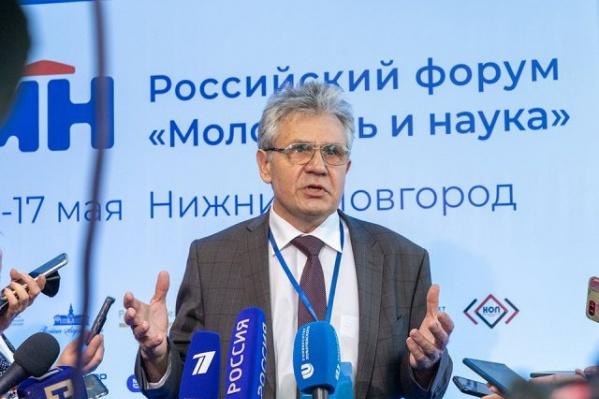 Президент РАН Александр Сергеев на форуме в Нижнем Новгороде