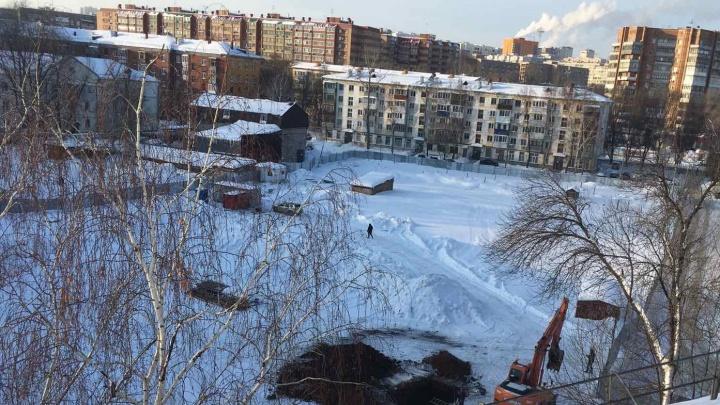 В Самаре на улице Победы начали строить 22-этажный дом