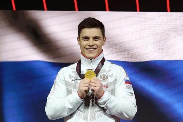 На Олимпиаде в Токио Нагорный завоевал три медали