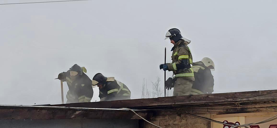 Сообщение о пожаре поступило сегодня в 8:00