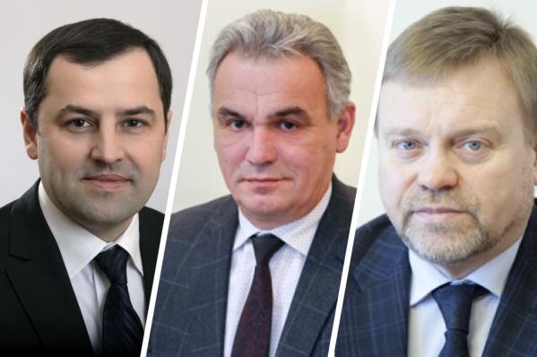 Владимир Бахарь, Сергей Козупица и Василий Нелюбин — самые богатые чиновники правительства края