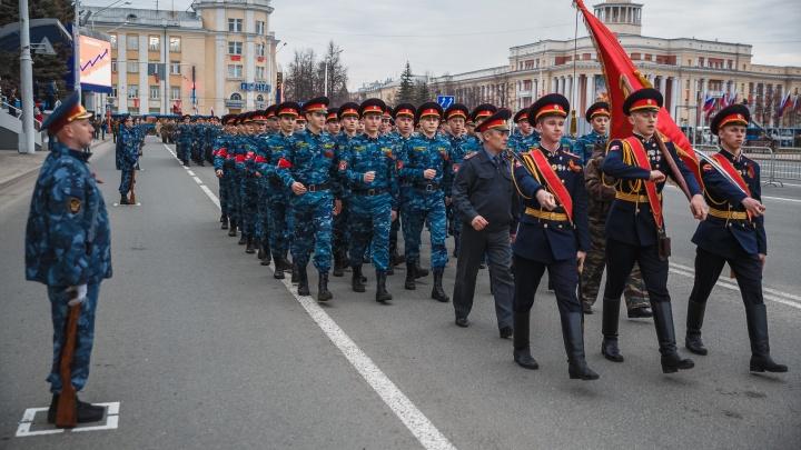 В Кемерово вновь перекроют центр из-за репетиции парада. Рассказываем когда