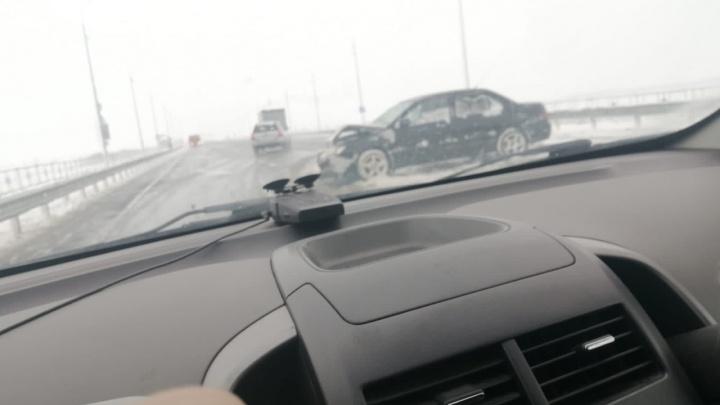 В нескольких районах Зауралья выпал снег. Ситуация на дорогах спокойная
