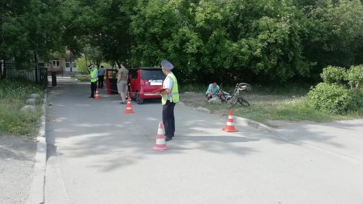 В Екатеринбурге иномарка сбила 9-летнего велосипедиста, который возвращался домой с «Майской прогулки»
