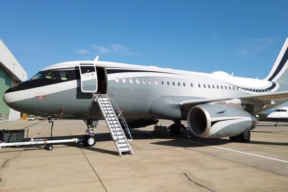 Так выглядит самолет Дмитрия Рыболовлева