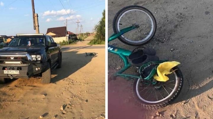В Челябинской области пенсионера отдали под суд за смертельный наезд на семилетнего велосипедиста