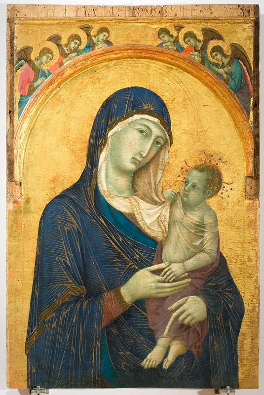 «Мадонна с младенцем», Дуччо ди Буонинсенья,<br>1300–1305
