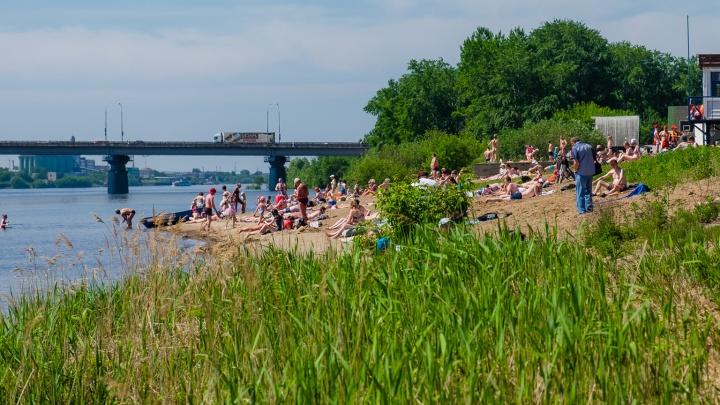 В Перми около городского пляжа утонула девочка