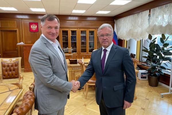 Губернатор побывал в Москве на встрече в Правительстве РФ