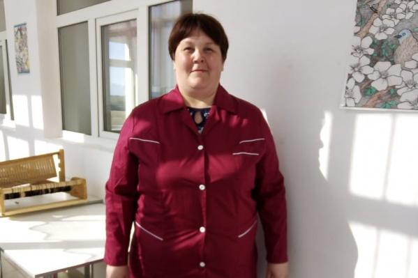 Танзиля работала в провизорном госпитале санитаркой, но получала зарплату как уборщица