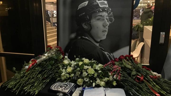 Погибшего от удара шайбы Тимура Файзутдинова похоронят в родном городе