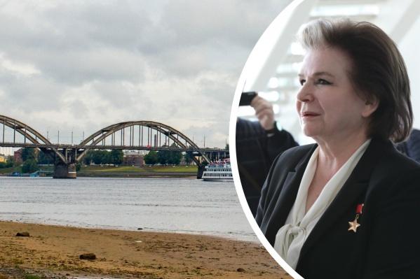 Новость про деньги на ремонт моста Терешкова сообщила на партийной конференции в Ярославле
