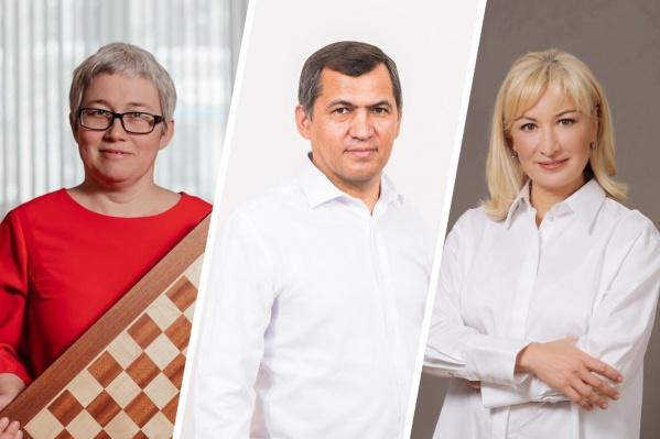 Всем троим Толкачев прочит место в парламенте