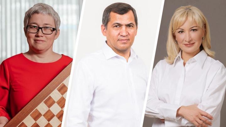 В Курултае Башкирии поздравили с победой на выборах шашистку, активиста и детского омбудсмена