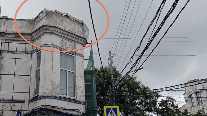 С памятника архитектуры в Краснодаре сняли башню. Спросили у мэрии, всё ли нормально