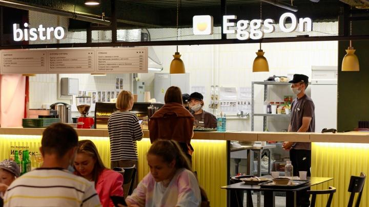 В «Гринвиче» открылось бистро, где кормят только яйцами