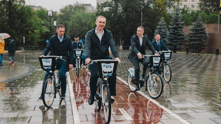 В Тюмени открылся городской велопрокат: как он работает и сколько стоит