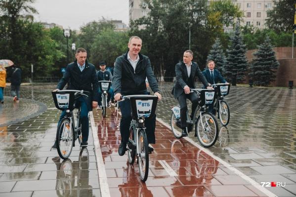 В Тюмени теперь есть свой городской велопрокат