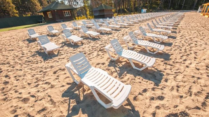 Рядом с Тюменью появился новый официальный пляж