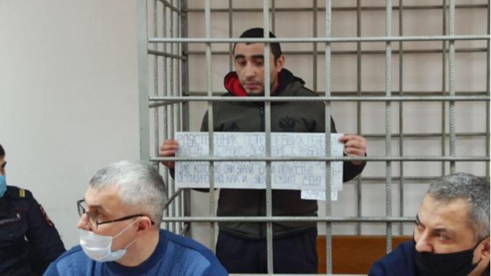 «Ты следующая»: в Волгограде обвиняемый в убийстве риелтора Арсен Мелконян наговорил себе еще на одно обвинение