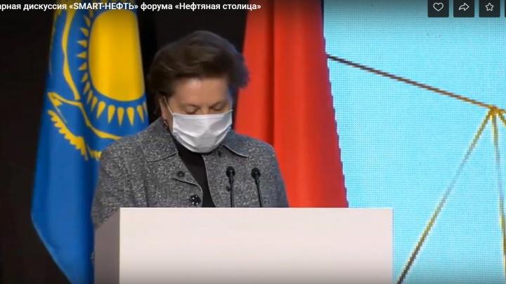 """""""Выше среднего"""": губернатор ХМАО Наталья Комарова привилась от коронавируса"""