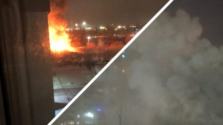 В страшном пожаре на Войновке погибли два человека