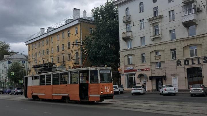 В Перми начали обкатку трамвайных путей на улице Уральская