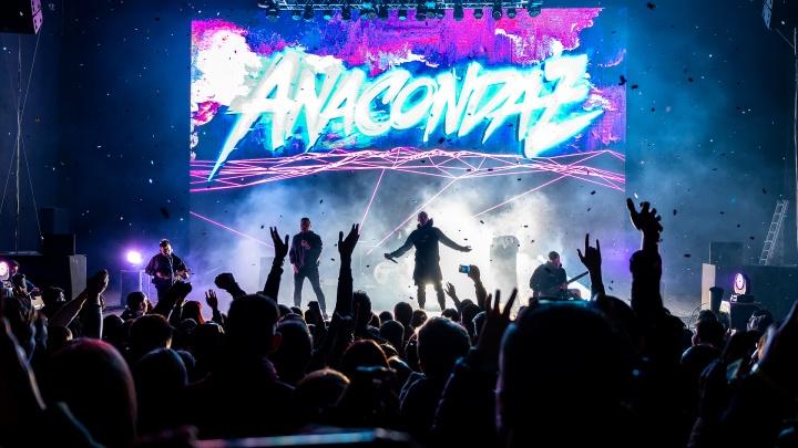 В Ростове прошел концерт Anacondaz. Показываем, как это было