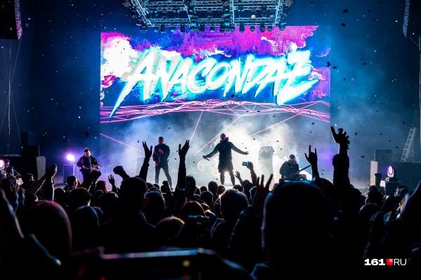 Концерты Anacondaz всегда фееричны