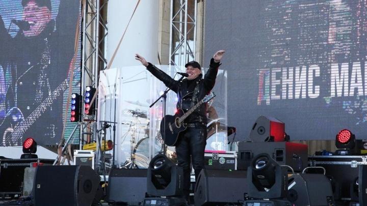 Организатор концерта Дениса Майданова в Уфе отделалась предупреждением