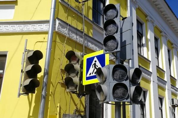 Движение пешеходов будет организовано по диагонали