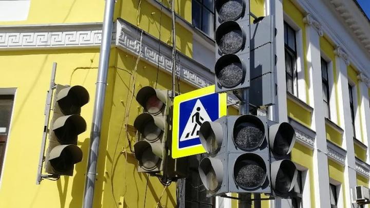 Диагональные пешеходные переходы появятся на центральных улицах Нижнего Новгорода