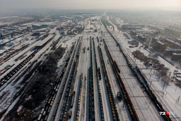 Инцидент произошел на станции Войновка