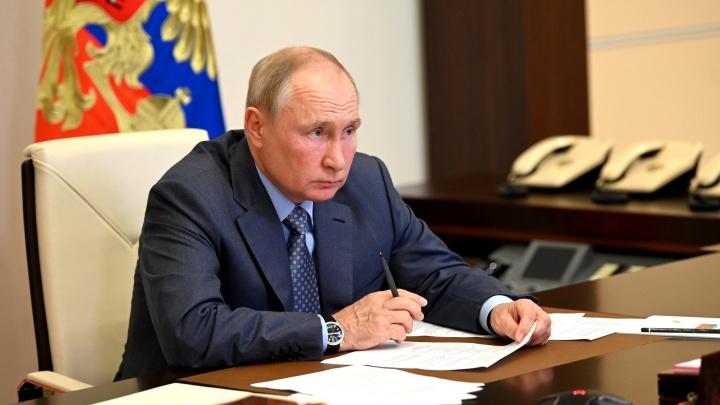 Президент дал поручения по ликвидации последствий подтоплений и природных пожаров