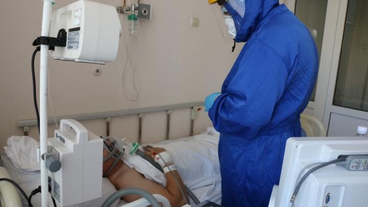 В Тюменской области свободно только 12% больничных коек для больных коронавирусом