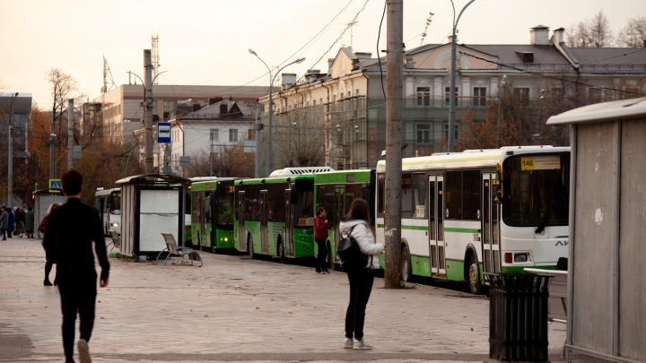 Во время нерабочих дней общественный транспорт в Тюмени будет ходить по особому графику