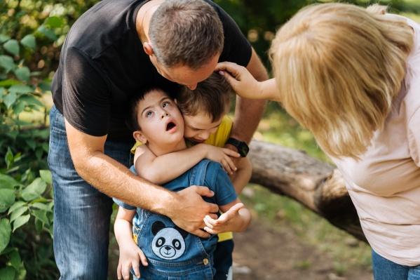 Редакция провела день с необычной семьей из Краснодара