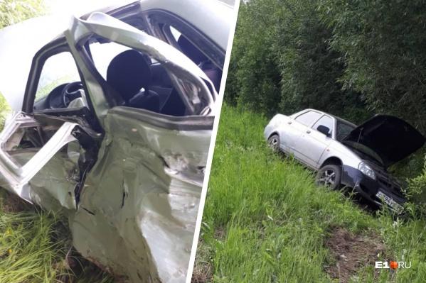 По предварительной версии, водитель Hyundai уснул за рулем и выехал на встречную полосу