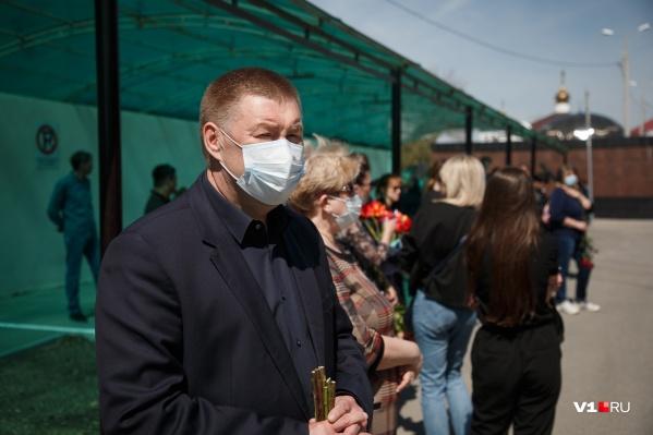 Александр Глинянов не стал отвечать на вопрос о своей возможной отставке
